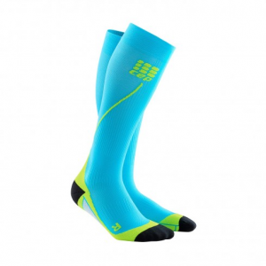 Progressive+ run socks 2.0 logo