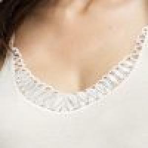 Camisole (kant) White