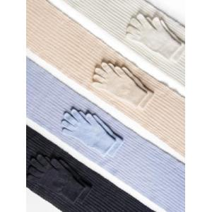 Handschoenen en sjaal logo
