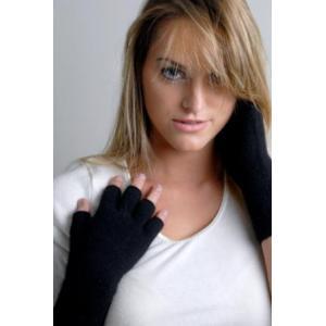 Vingerloze handschoenen logo