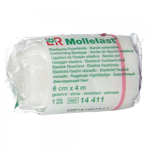 Mollelast 6cmx4m logo