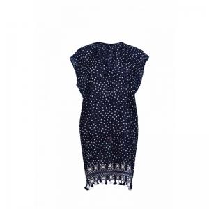 Rosa Faia-Divar dress Donkerblauw